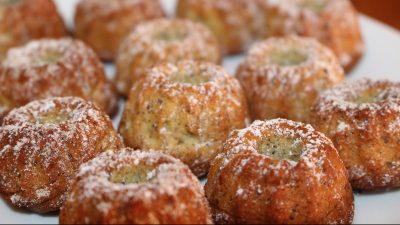 Zimt-Mohn-Gugelhupf – Rührkuchen im Miniformat