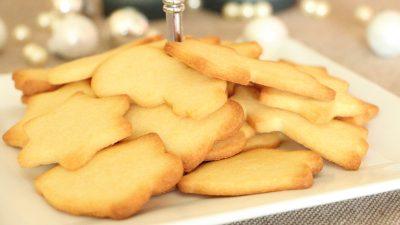 Butterkekse oder 1-2-3 Keksteig