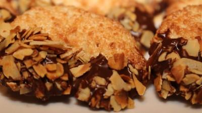 Kokos-Mandel-Kipferl – Kokosmakronen