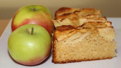 Sandmasse – Apfelkuchen saftig und lecker