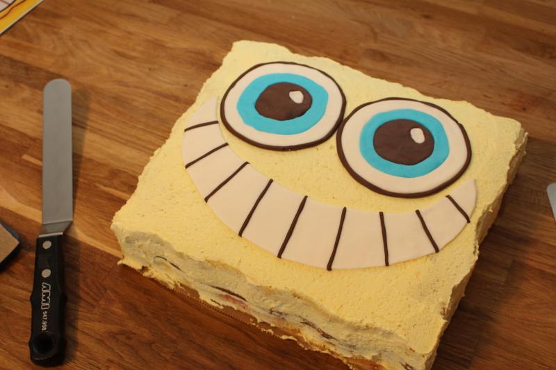 Spongebob Torte Schwammkopf Mal Anders Cakeryboy