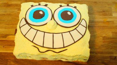 Spongebob Torte – Schwammkopf mal anders