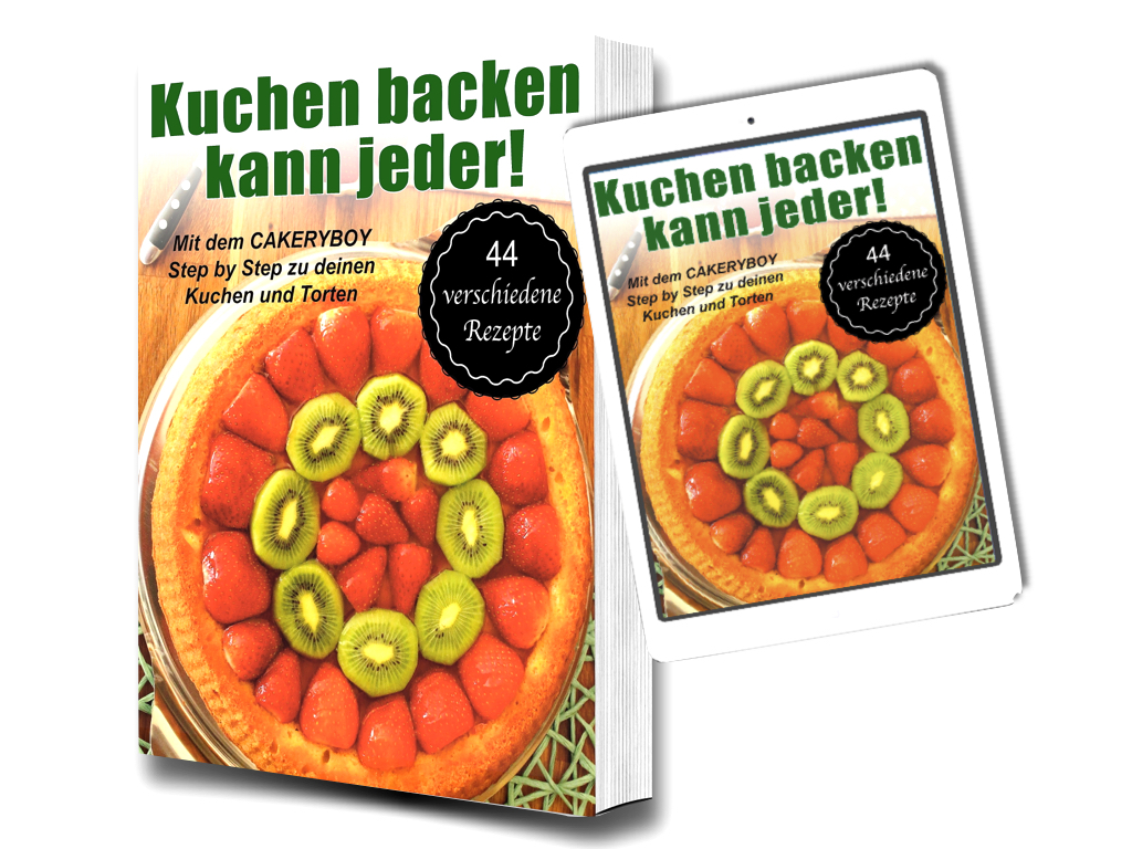 Das original CakeryBoy Backbuch