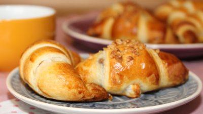 Croissant – zum Frühstück selbst gemacht