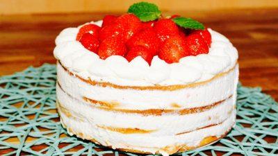 Kiewer Torte – eine Torte ohne Biskuit
