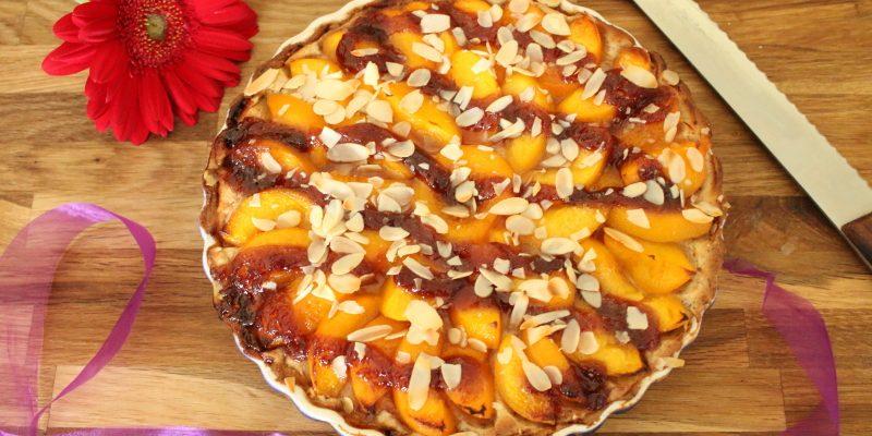 Nuss-Aprikosenkuchen