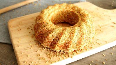 Saudi Arabischer Basbousa Kuchen