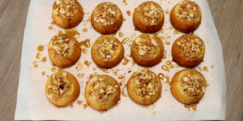 Marokkanische Basbousa Kuchen