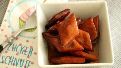 Koreanische Yakgwa mir Reiswein
