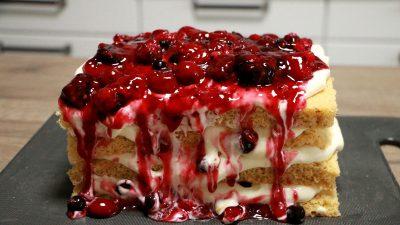 Lagkage Kuchen aus Dänemark